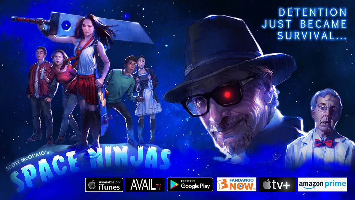Space Ninjas - Streaming Poster
